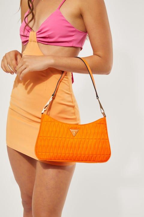 Guess Originals Layla Shoulder Bag Orange