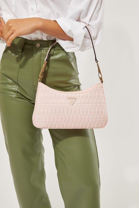 Guess Originals Layla Shoulder Bag Pink