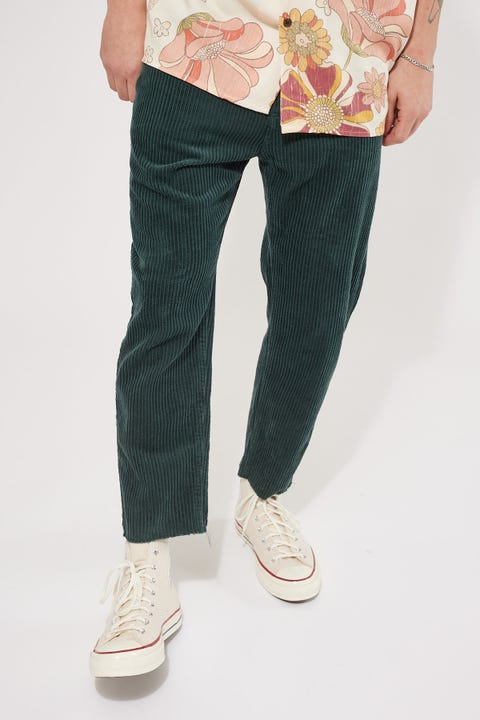 Common Need Dexter Cord Pant Green