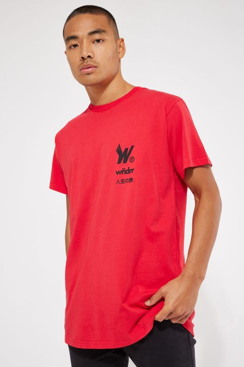 Wings Custom Fit Tee Red