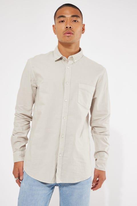 Academy Brand Vintage Oxford LS Shirt Cloud