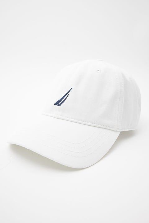 Nautica 6 Panel Buckle Hat White