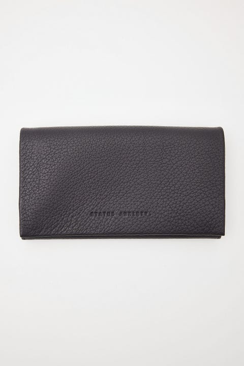 Status Anxiety Nevermind Wallet Black