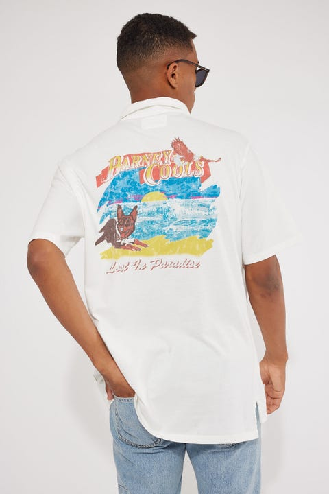 Barney Cools Comfy Shirt White