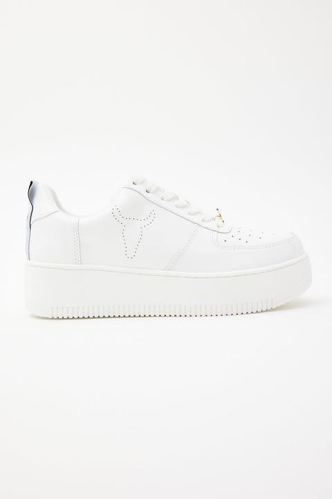 Windsor Smith Racerr White Leather