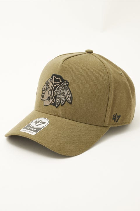 47 Brand MVP DT Snapback Chicago Blackhawks Sandalwood